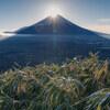 【登山】今年最後の登山!〆に「竜ヶ岳」でダイヤモンド富士を見てきました。
