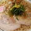 梅田の駅中にある「京都 麺屋たけ井」を食べた
