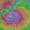 台風上陸直前にギリギリ香港へ出発