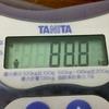 ゾロ目の日に、ゾロ目の体重でした(*^_^*)