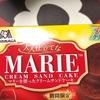 12/4(水) 大人仕立てな MARIE  CREAM SAND CAKE マリーを使ったクリームサンドだよ