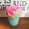 ピンクの芍薬キャンドル