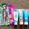 【日本で購入したものシリーズ③】歯ブラシと歯磨き粉のまとめ買い♡