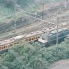 30年前の写真 小田原城から見た鉄路