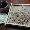盛り蕎麦(桝田屋食品『極上八割蕎麦』)