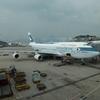 4日目:キャセイパシフィック航空 CX542 香港〜羽田 ビジネス