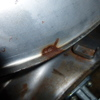 7型イレ タンクの穴開き補修