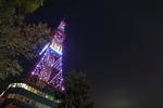 さっぽろテレビ塔のイルミネーション! キラキラしていて美しい。