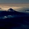 フライトでの山岳展望