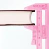【便利な文房具】ミドリの『スライドルーラー』は厚みが測れる文房具です!