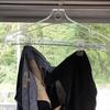 梅雨です。速く乾いて。ズボンの干し方3通り(我家流)