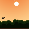 Rubyで書かれたFlappy Bird clone、fruity batで遊んでみた。