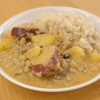豚ひき肉とサツマイモのココナッツミルクカレー