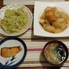 2017/10/13の夕食