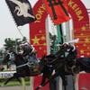 相馬野馬追(そうまのまおい)が大井競馬場で開催されていた