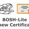 BOSH-Lite Directorの証明書一式を更新する