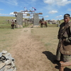 モンゴル訪問の記録より(7)13世紀村・ウルトゥーの騎馬警護兵団のゲル群