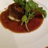牛フィレ肉のロッシーニ風