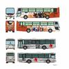 ザ・バスコレクション『小田急箱根高速バス エヴァンゲリオンラッピング2台セット』Nゲージ【トミーテック】より2020年6月発売予定♪