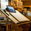 コサカのアトリエ!作業環境とデッサン机のDIY