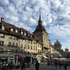 スイスの小さな街ベルン観光。リーズナブルなチーズフォンデュとマルゲリータでチーズまみれと夜景の初日