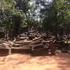 【カンボジア女子一人旅】森の中に隠れた遺跡、ベンメリア(*^-^*)♡