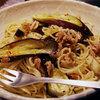 ナスとツナのスパゲッティ