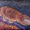 4年生の黒板画.   Tierkunde der 4Klasse
