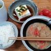 豚汁と湯豆腐