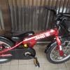 べちくんの赤い自転車