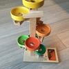 素敵な木のおもちゃ「トレイクーゲルタワー・レインボー」