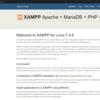WSL2のUbuntuにXAMPPをインストールして動かす