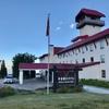標高1000m地に立つ 人気の 妙高高原 赤倉温泉「赤倉観光ホテル」眺望最高野尻湖側 本館洋室 に宿泊、これがあの二部式着物