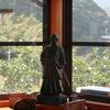 慎太郎先生顕彰会事務所の慎太郎像。