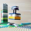 レゴ:ロープウェイの作り方 (オリジナル) クラシック10696と基礎板だけで作ったよ