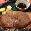 朝から、ステーキをいただきました。 at デニーズ_北池袋店