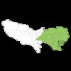武漢市と湖北省の大きさ