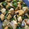 鶏肉とピーマンのカレー風味ソテー