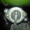 RV90 2号機 コックのパッキン交換
