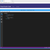 Visual Studio Codeを触る