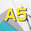 A5のノートを愛用しているなら、専用のカバーを買えばとても格好良くなるよ。それから専用ペンケースもあれば なお良し。