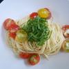 簡単!!冷製トマトパスタの作り方/レシピ