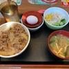 【すき家】『牛丼並盛ランチセット』の件