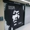 街で見かけたロックアーチスト、ジミ・ヘンドリックス