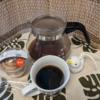 今回のコーヒーはブラジル(中煎り)~お茶請けはミルクプリン~