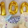【育児】100日記念写真はセルフで