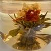 ポットの中でお花が咲く工芸茶🌸試してみました!
