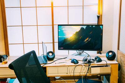 在宅勤務に4Kモニターを導入。Windowsだって画面が超キレイになった!