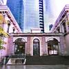 旧新橋ステンション(国鉄汐留駅)跡の再建駅舎と遺構 - 鉄道歴史博物館