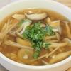 """五穀米レシピ#12 """"もち麦""""と""""きのこ""""のしょうがスープ(ダイシモチ使用)"""